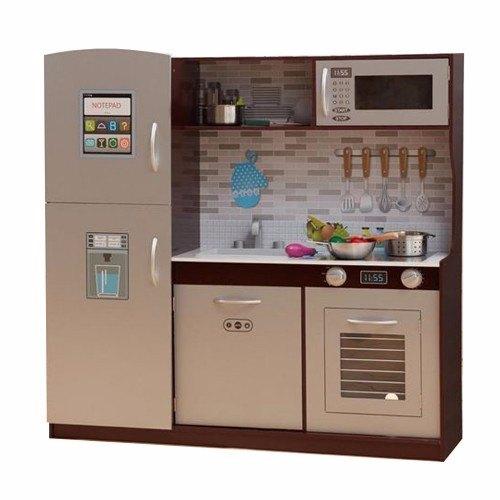 סנסציוני מטבח מודרני לילדים הכולל מקרר, מדיח כלים, מיקרו מבית TEAMSON OB-24