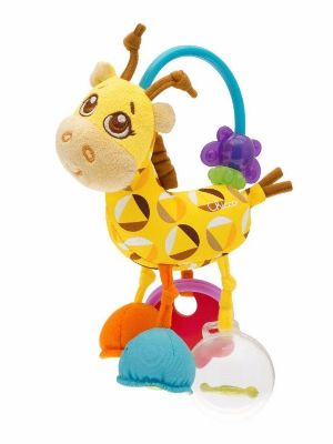 רעשן משחק ג'ירף Chicco First Activity Rattle Giraffe