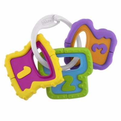 רעשן נשכן מפתחות Chicco Easy Grasp Keys