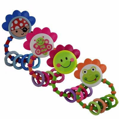 נשכן רעשן Twigy דגם Rattle & Teether